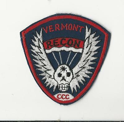 Us Army Patch - Recon Team Vermont
