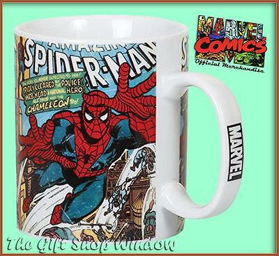 Marvel Comics Spiderman Ceramic Mug In Presentation Box Spider Man Super Quality