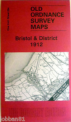 OLD ORDNANCE SURVEY MAPS BRISTOL CLEVEDON AVONMOUTH NAILSEA AREA 1912 S264 New