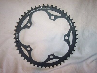 """NEW Stronglight CT2 Ceramic-Teflon TRACK Chainring // 49T, 130mm BCD, 1/8"""""""
