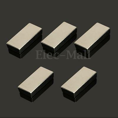 1/2/5/10PC Neodymium Block Magnet 50x25x10mm N52 Super Strong Rare Earth Magnets