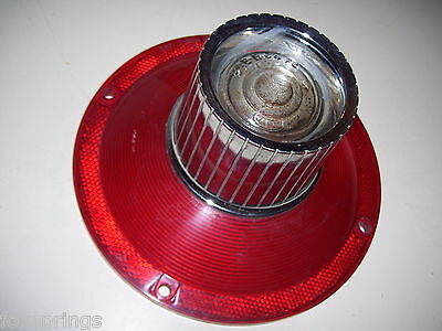1964 FORD GALAXIE TAIL LIGHT LENS WITH REVERSE  -  64AFD  -  F256