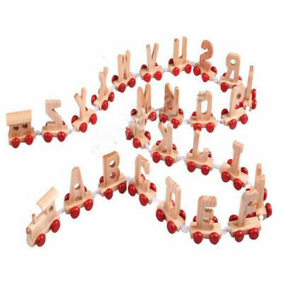 A Set of Brand New Kids Children Wooden Alphabet Train Letters Personalised Name