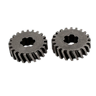 2 Pcs Electric Power Tool Replacement 21 Tooth Helical Gear Wheel