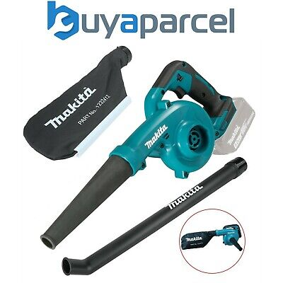 Makita DUB182Z 18v LXT Lithium-Ion Cordless Blower Vacuum + Collect Bag - Bare