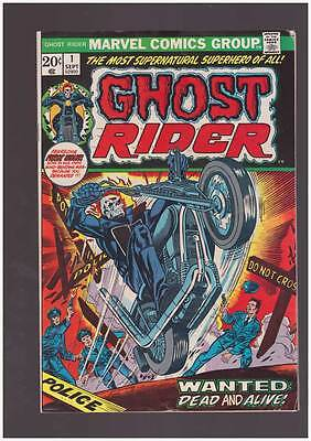 Ghost Rider # 1  Wanted Dead and Alive ! grade 5.0 scarce hot book !!