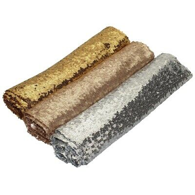 NEW Sequin Table Runner Gold Silver Champagne Wedding Sparkly Bling Party Decor