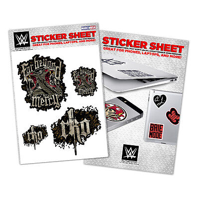 WWE Randy Orton Vinyl Sticker Sheet [NEU] Aufkleber