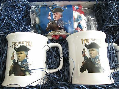 Rush Limbaugh tea  coffee mug  set of 2 if by tea