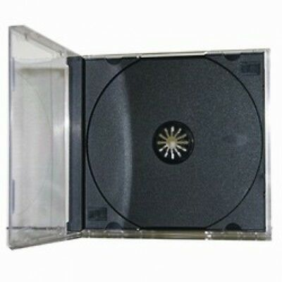 10 STANDARD Black CD Jewel Case