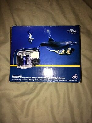 FANTASEA CP-7 Housing for Nikon Coolpix 5900 and 7900 Cameras NEW In Box