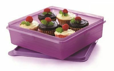 Tupperware Bake To Basic B2B Snack Stor Savoury Cold Cut Deli Sweet Keeper 2.9L