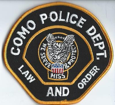 Como Police Department Mississippi patch