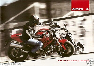 Motorcycle Brochure - Ducati - Monster - 696 - c2008 (DC284)