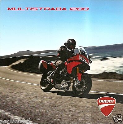 Motorcycle Brochure - Ducati - Multistrada 1200 - c2010 - Travel Tours (DC288)