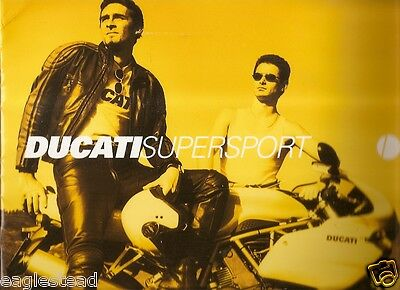 Motorcycle Brochure - Ducati - Supersport - 750 900  (DC297)