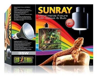 Exoterra Support Ballast Lampe Sunray pour Reptiles et Amphibiens 35 W  NEUF