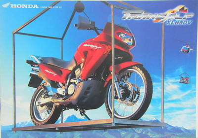 2000  Moto  Honda Transalp Xl 650 V  Catalogue 8  Pages
