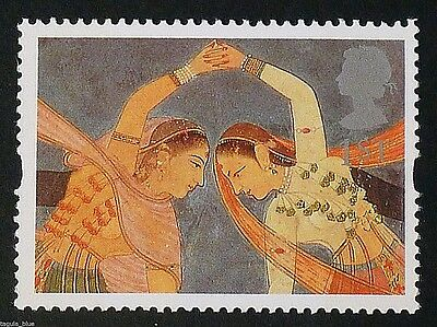 'Girls performing Kathak Dance' illustrated on 1995 Stamp - Unmounted mint