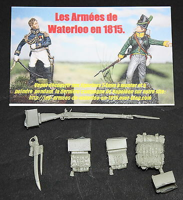 54mm-EQUIPEMENTS CORPS DES GRENADIER -1815-WATERLOO-NAPOLEON-HISTOREX-1er EMPIRE