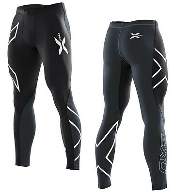 New 2XU Elite Compression Tights Men PWX Running Pants Tight Fitness Train Race