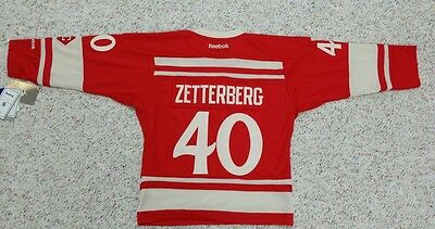 quality design eea55 10c4b DETROIT RED WINGS YOUTH Jersey 2014 Winter Classic Jersey #40 Zetterberg or  #35
