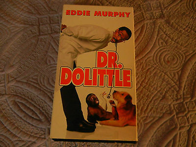 Eddie Murphy in DR. DOLITTLE VHS FREE SHIPPING!!
