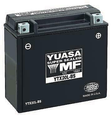 Yuasa Maintenance Free Battery  YTX20L-BS
