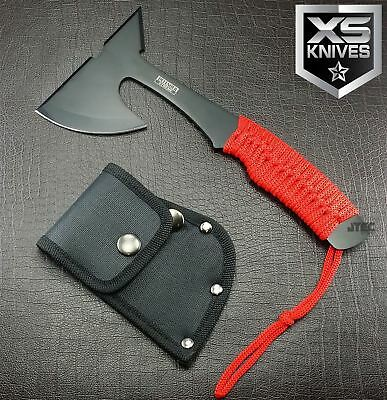 "9"" ZOMBIE Survival Tomahawk Throwing AXE Battle Hatchet Knife Apocalypse - ZN20"