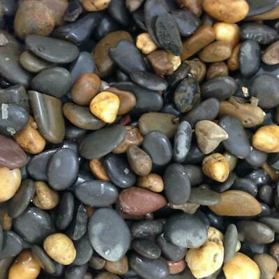 Aquarium Fish Tank Stones Pebbles Gravel Substrate Natural Color 1-2cm 5-60kg