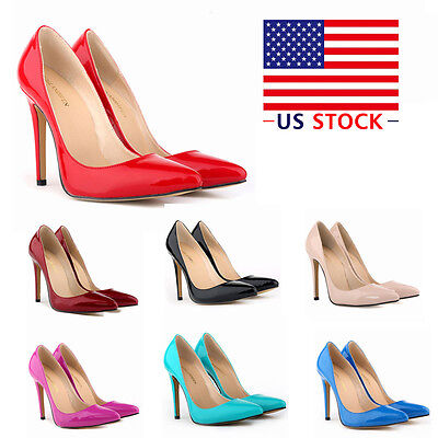 WOMENS HIGH HEELS POINTED CORSET STYLE WORK PUMPS WEDDING PARTY DANCING SHOES
