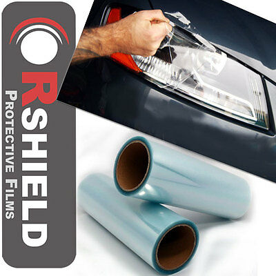 """Pro 72""""x12"""" Clear Transparent Film Sheet Vinyl Overlay Cover for Acura & more"""