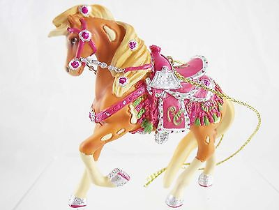 Rhinestone Cowgirl Resin Ornament - Shine On! - 2014 Painted Ponies - NIB