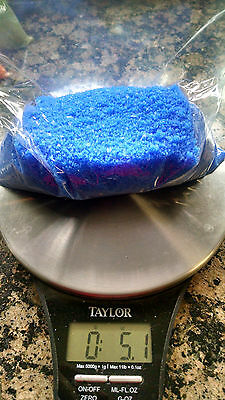 Color Wax Candle Beads/Flakes 5 oz ea. Unscented No Wicks-BLUE--SHIPS IN 1DAY