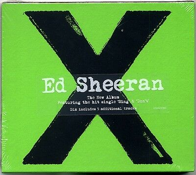 Ed Sheeran - X (Deluxe Edition CD 2014) 17 tracks Brand New & Sealed