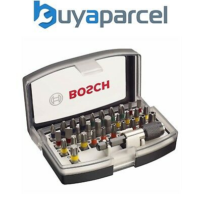 Bosch 2607017319 Professional 32 Piece Colour Coded Screwdriver Bit Set Pozi PH2