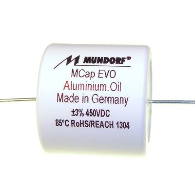 Mundorf MCap EVO Oil Öl 0,22uF 450V High End Audio Kondensator capacitor 854246