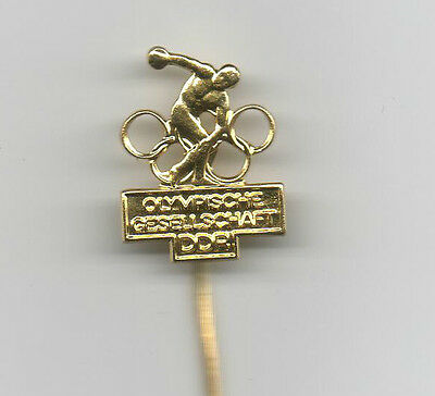 Orig.PIN   Olympic Games MEXICO 1968 // GDR NOC - GOLD  !!  EXTREM RARE