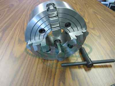 "10"" 4-JAW LATHE CHUCK with independent  jaws #1004F0 - NEW"