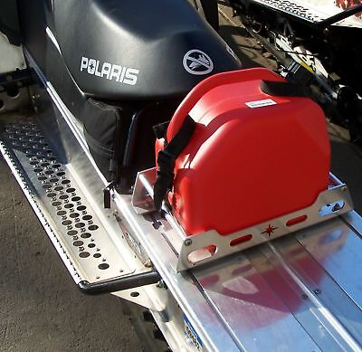 NEW 2.5 GAS JERRY FUEL CAN WITH POLARIS STRAPS IQ PRO-RIDE RMK