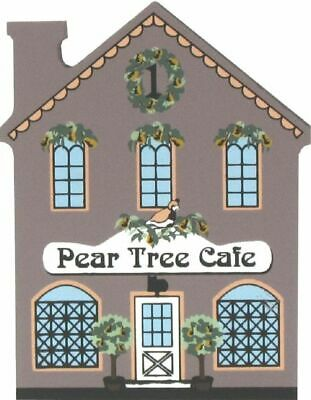 Cat's Meow Village 12 Days Christmas Pear Tree Cafe #00-131 NEW SHIP DISCOUNTS