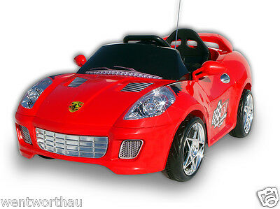 Ride On Car Kids Toy Ferrari Sports Roadster Battery Electric Remote 1Y Wrty