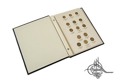Syria 1962-2003 Coin Album inc. 1965 1968 1971 1973 1974 1976 1978 1979 1991 etc