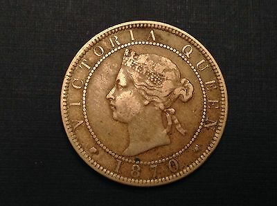 Great Britain – Jamaica 1870 Queen Victoria One Penny