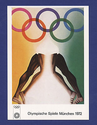 Orig.postcard   XX.Olympic Games MÜNCHEN 1972 // Special Edition D !! VERY RARE