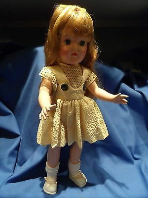 Vintage 1950's IDEAL P-90 Toni DOLL Beautiful coloring