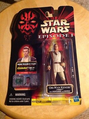 New Star Wars Obi-Wan Kenobi With Lightsaber And Handle.  Has bro.