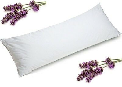 Aromatherapy Body Pillow Lavender Inside  Pillow 148 x 48 cm Fibre 1800 Gram