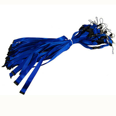 Bulk Lot X 100 Blue Lanyards With Safety Release Buckle