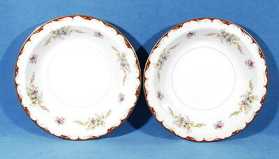 "Harmony House Wembley Bowls Rim Soup 7 7/8"" Set of 2 Fine China Made in Japan"